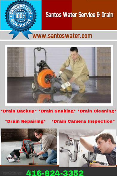 Drain Cleaning Toronto | Santos Water | Toronto Plumbing Repair | Scoop.it