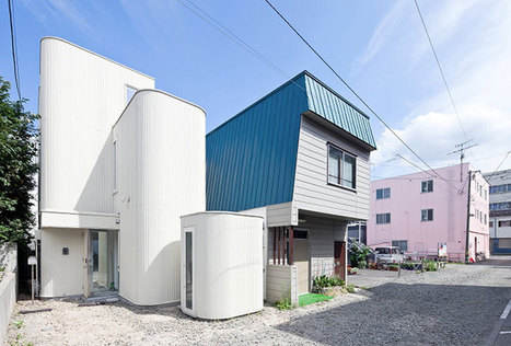 [Moche à l'extérieur... belle à l'interieur] Jun Igarashi builds the house of DENSITY - designboom | architecture & design magazine | The Architecture of the City | Scoop.it