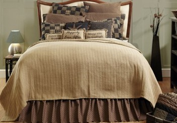 Nantucket Woven Coverlet - Country Style Bedding | Country Home Design Ideas | Scoop.it
