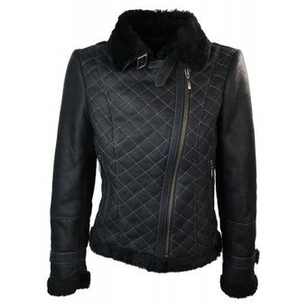 Ladies Women Sheepskin Flying Buckle Winter Jacket | Womens Clothing | Scoop.it