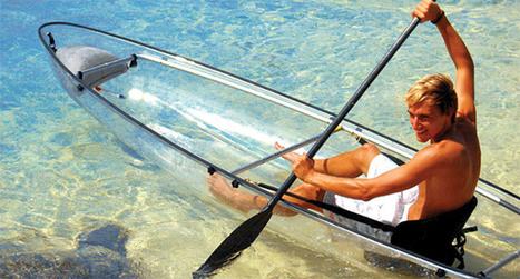 Transparent Kayak Made from Key Ingredient in Bulletproof Glass | Sport innovation | Scoop.it