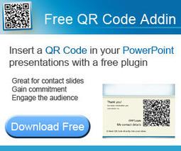 QR Code in PowerPoint Presentations | lärresurser | Scoop.it