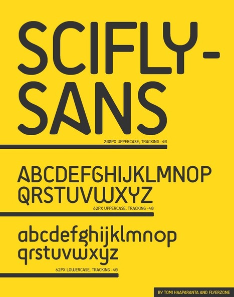 Download the FREE SciFly Sans Font – - Flyerzone BlogFlyerzone Blog | Curiosidades de la Red | Scoop.it