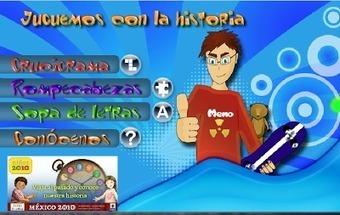 Con mirada de niños: Portal para niños 2010 Viaja al pasado y conoce nuestra historia de México de forma divertida   Educación Preescolar y temas relacionados   Scoop.it
