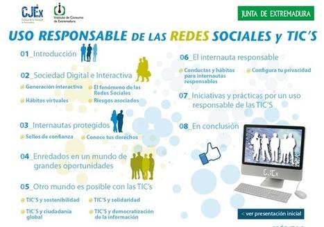Uso responsable de las redes sociales y las TICs - RedDOLAC - Red de Docentes de América Latina y del Caribe - | RedDOLAC | Scoop.it