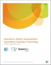 Potential vs. reality: Sustainability's value when investing in technology   GreenBiz.com   Taccle2 - The Comenius project   Scoop.it