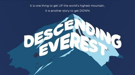 Visualistan: Descending Everest [Infographic] | Latest Infographics | Scoop.it