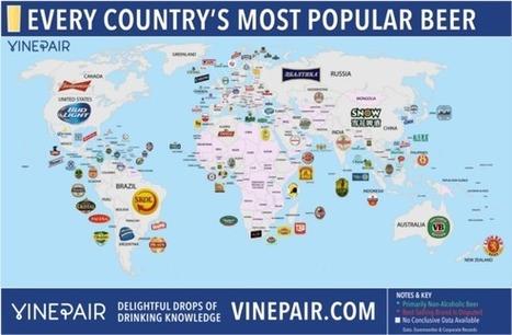 Quelles sont les bières les plus populaires dans le monde ? | Blog tourisme | Actu Tourisme | Scoop.it