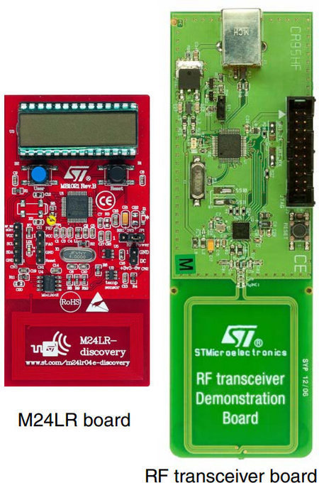$17.50 STMicroelectronics M24LR Discovery Kit For NFC/RFID Batteryless Applications | Embedded Systems News | Scoop.it