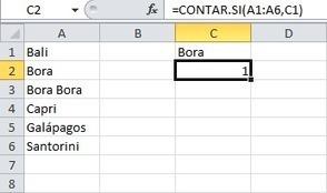 Contar las apariciones dentro de un rango de Excel   Excel   Scoop.it