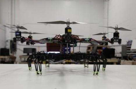 Hexacopter + Hexapod = An Eerie Robotics Masterpiece   Hack N Mod   Heron   Scoop.it