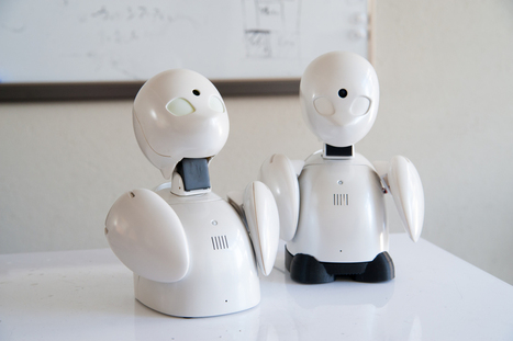 How the Japanese robot avatar OriHime fights loneliness | shubush design & wellbeing | Scoop.it