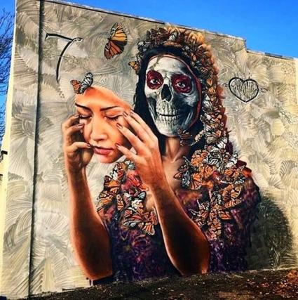 skull street art | Tumblr | World of Street & Outdoor Arts | Scoop.it