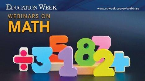 Math Webinars | Interneta rīki izglītībai | Scoop.it