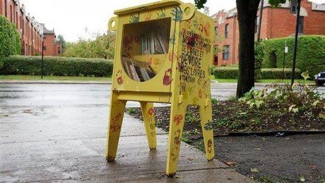 Des boîtes de partage de livres pour les jeunes font leur apparition | ICI.Radio-Canada.ca | Bibliolecture | Scoop.it