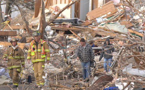 Death toll rises to 5 after tornadoes whip through Midwest, level town | Al Jazeera America | Pashmina - Real Estate | Scoop.it
