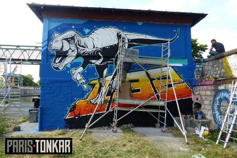 Street Art Avenue à Aubervilliers | Paris Tonkar magazine | Scoop.it