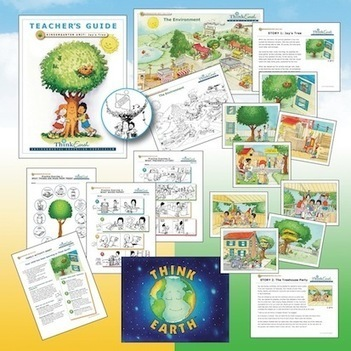 Free Environmental Curriculum from Think Earth Environmental Education Foundation : K-9 | STEM/Social Studies | Scoop.it