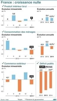 L'économie française a calé au premier trimestre | Actualité - Economie française | Scoop.it