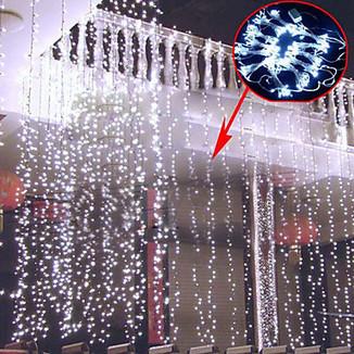 0.8Mx3M White LED String Lamp with 800 LEDs - Christmas & Halloween Decoration – LightSuperDeal.com | LED lights | Scoop.it