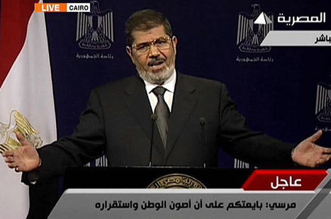 Egypt's Morsi says he will not step down - Aljazeera.com | Current Politics | Scoop.it