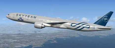 FS2004/FSX - KLM Skyteam Boeing 777-300ER | KLM | Scoop.it