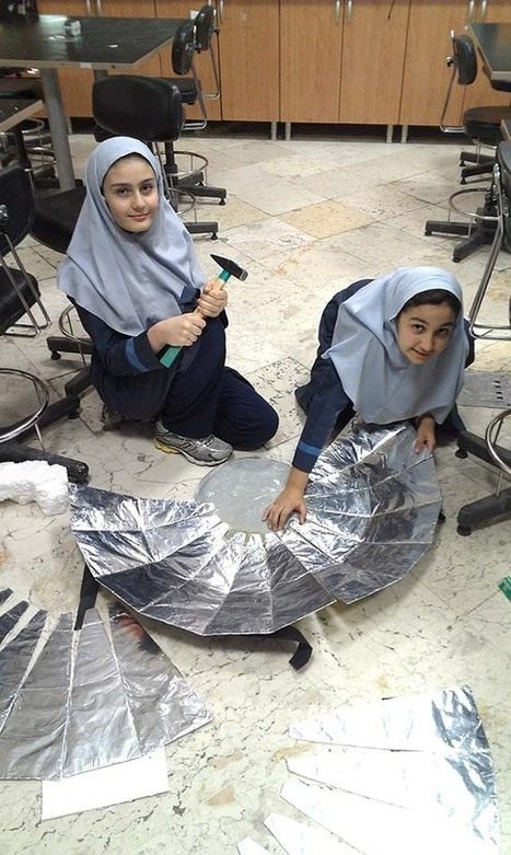 Join students from Iran in the Moon Observation and Solar Cooking Projects! | iEARN in Action | Scoop.it
