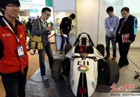 Race Car with over 360 3D Printed Parts on display at Chinese Expo | Technology in Business Today | Scoop.it