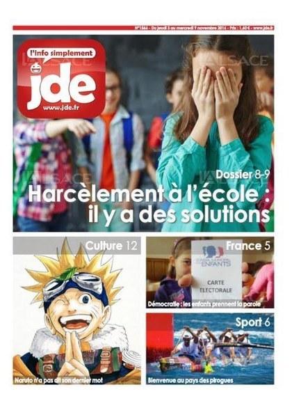 JDE n°1566 (3 au 9 novembre 2016) | Les revues de la médiathèque | Scoop.it