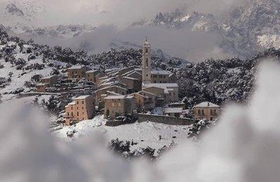 La Corse sous la neige | Revue de Web par ClC | Scoop.it
