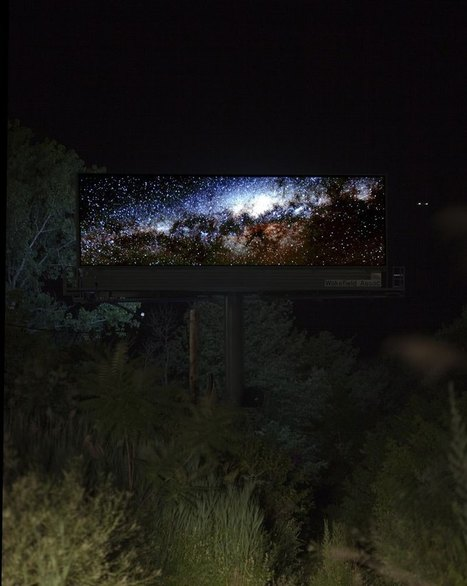 Artist Buys a Month of #Digital #Billboard Space to Display #Nature #Photos. #art | Luby Art | Scoop.it
