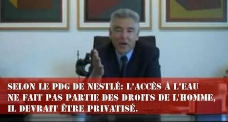 Selon le PDG de Nestlé : L'accès à l'eau | Santé | Scoop.it