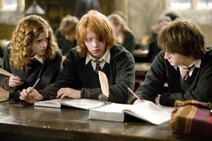 Hermione-granger-ron-weasley-harry-potter-hp4-study-6x4.jpg | James Fallon PBL | Scoop.it