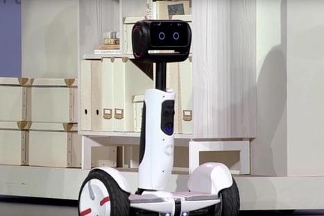 CES 2016 : ce gyropode Segway se transforme en robot de compagnie | Une nouvelle civilisation de Robots | Scoop.it
