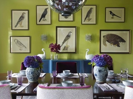 Color Guide: How to Work With Plum | Designing Interiors | Scoop.it