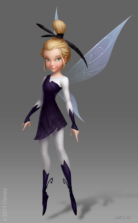 Disney's 'Pixie Hollow Games' Visual Development Painting: Glimmer | ChrisOatley.com :: Inspiring Artists & Storytellers since 2001 | Chaînes Disney (TV - Canalsat - Orange - Freebox - Neufbox ...) | Scoop.it