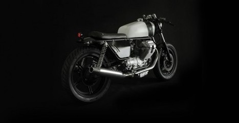 "Custom Guzzi ""Corsaiola"" by Venier Customs | ClassyEdgyWildWheels: bikes, motorbikes & automobiles | Scoop.it"
