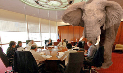 Elephant Stirring:Fossil Fuel's Stranded Assetts Issue Looming | The Peoples News | Scoop.it