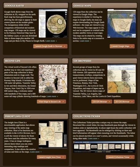 David Rumsey Historical Map Collection | Kiosque du monde : A la une | Scoop.it