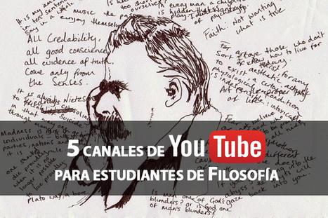 Cinco canales de Youtube para estudiar Filosofía | Creativos Culturales | Scoop.it