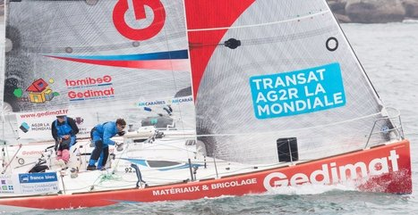 Le tandem Chabagny-Tabarly remporte la transat AG2R   EnezGreen   Equipements durables sports outdoor   Scoop.it