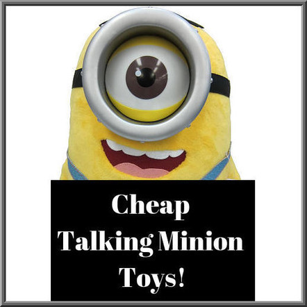 Talking Despicable Me Minion Toys | Fun Stuff For Kids | Scoop.it