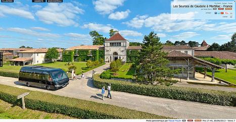 Visite virtuelle - Les Sources de Caudalie à Martillac  -  France par Pascal Moulin | moulin360panoramic | Scoop.it