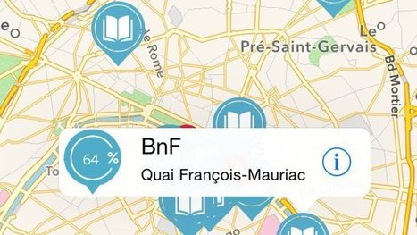 Affluences, l'appli pour trouver une place à la bibliothèque - Le Figaro | Bibliothèques en ligne | Scoop.it