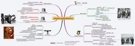 seconde-guerre-mondiale en carte heuristique | Des ressources numériques pour enseigner | Scoop.it