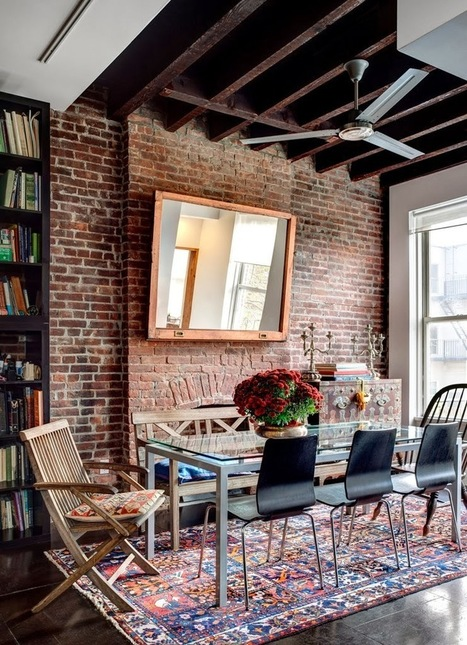 Una casa a due livelli a Brooklyn | Raw and Real Interior Design | Scoop.it