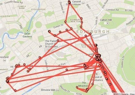 Google peut vous montrer sur une carte où vous étiez, n'importe quel jour de l'année, à la minute près… | Archivance - Miscellanées | Scoop.it