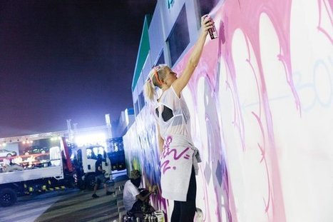 Dubai, UAE VIDEO: Street Nights DXB – the view from the canvas - Street I Am | Street Art Planet | Scoop.it