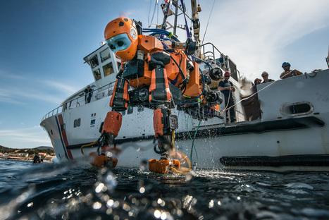 Un robot humanoïde révolutionne l'archéologie sous-marine | Numérique au CNRS | Scoop.it