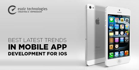Best latest trends in mobile app development for iOS | Esolz Technologies | Scoop.it